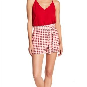WAYF Matera High Waisted Shorts